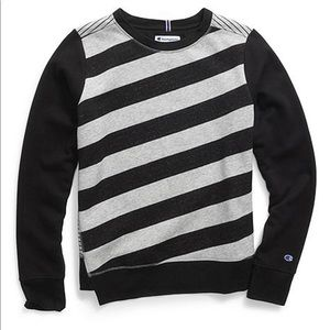 New Striped Champion Sweatshirt Size Small